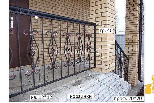 Балконы и ограждения (фото) №15