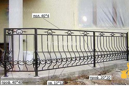 Балконы и ограждения (фото) №06