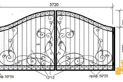 Ворота 040