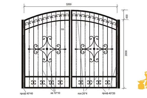 Ворота 051