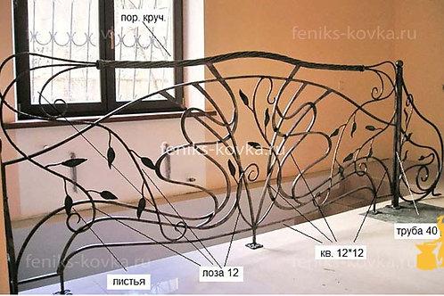 Балконы и ограждения (фото) №41
