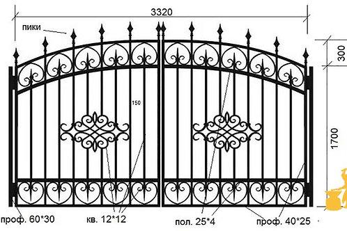 Ворота 023