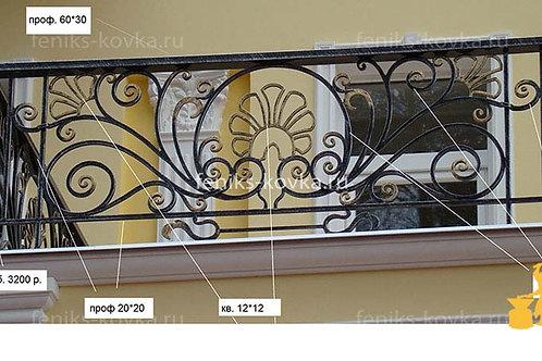 Балконы и ограждения (фото) №28