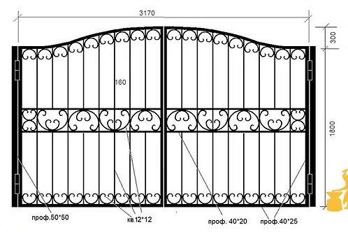 Ворота 031