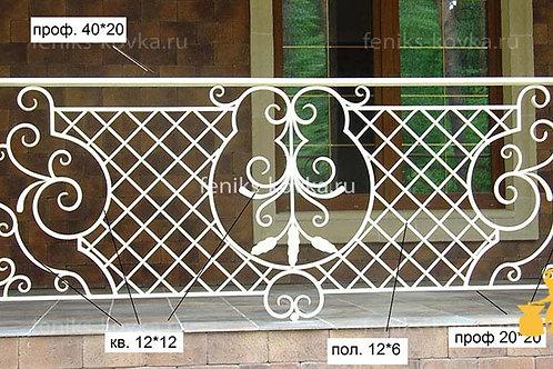 Балконы и ограждения (фото) №38