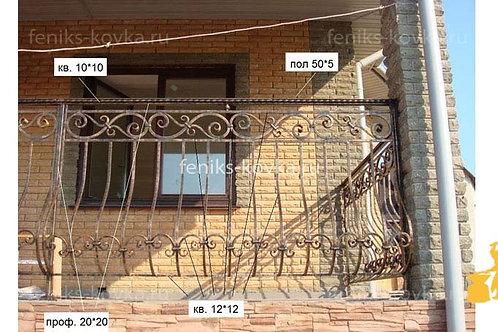 Балконы и ограждения (фото) №20