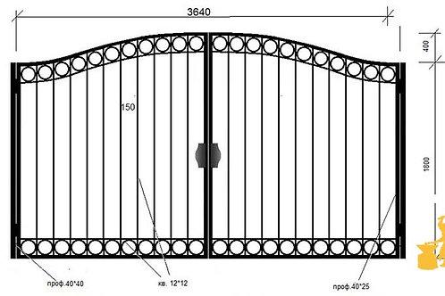 Ворота 04