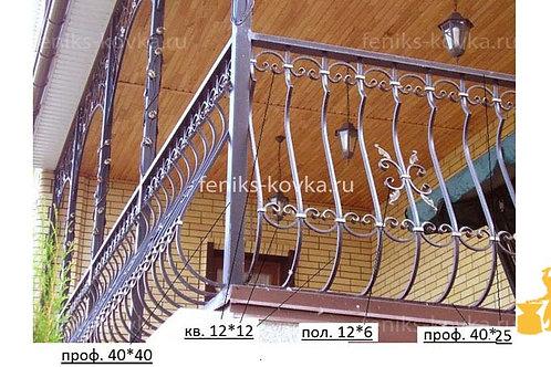 Балконы и ограждения (фото) №11