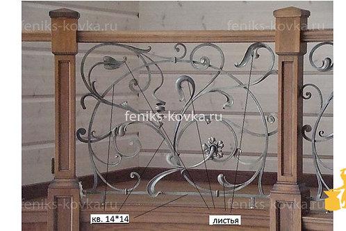 Балконы и ограждения (фото) №43