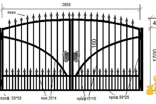 Ворота 041
