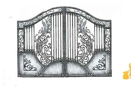 Ворота 047