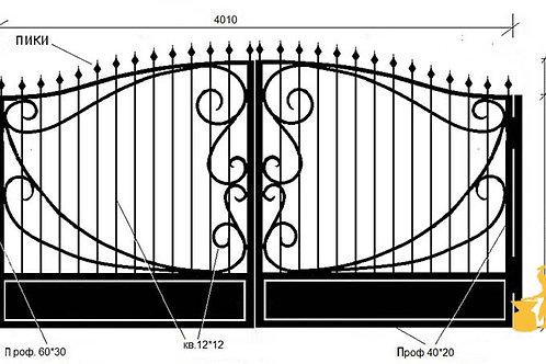 Ворота 017