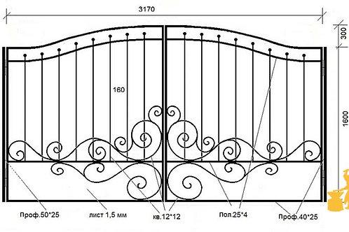 Ворота 049