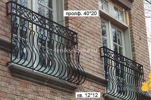 Балконы и ограждения (фото) №30