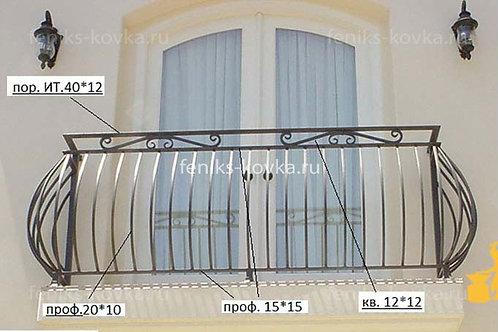 Балконы и ограждения (фото) №07
