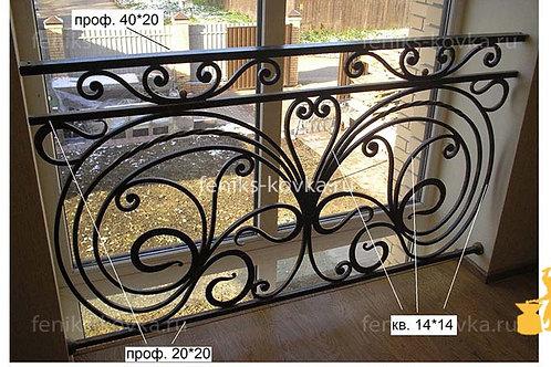 Балконы и ограждения (фото) №39
