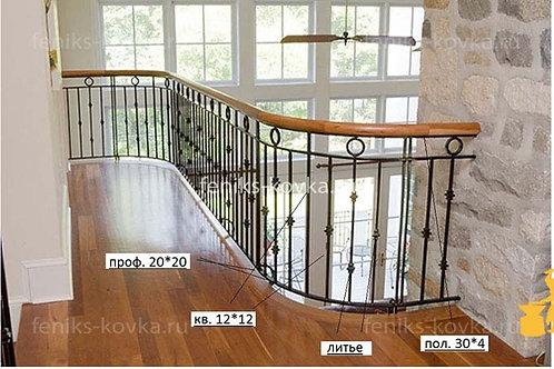 Балконы и ограждения (фото) №05