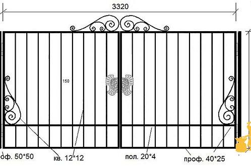 Ворота 036