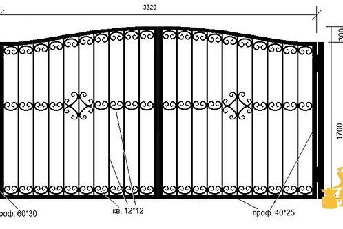 Ворота 024