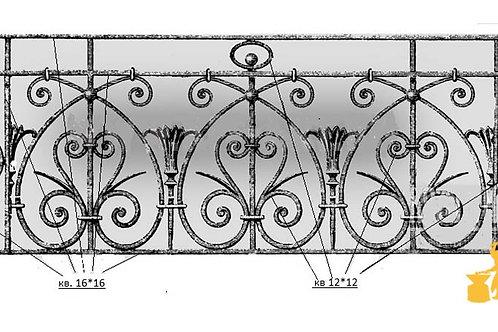 Балконы и ограждение №34