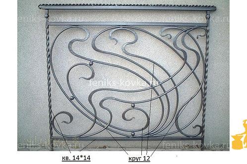 Балконы и ограждения (фото) №53