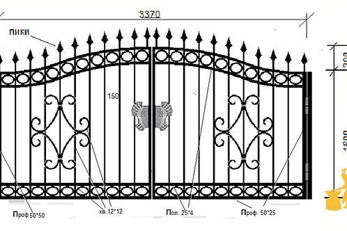 Ворота 044