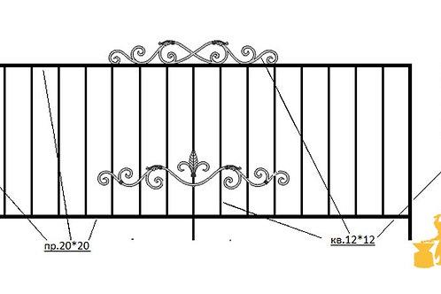 Балконы и ограждение №19