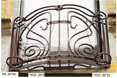 Балконы и ограждения (фото) №25