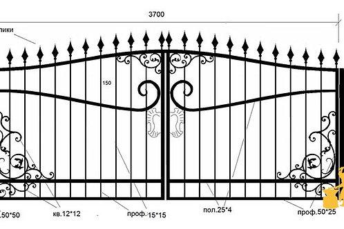 Ворота 033