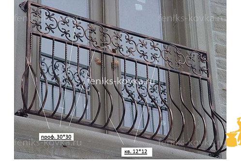 Балконы и ограждения (фото) №09