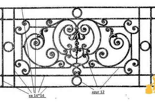 Балконы и ограждение №28