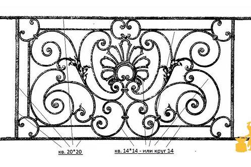 Балконы и ограждение №33