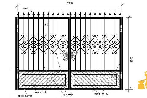 Ворота 014
