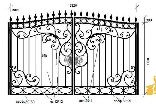 Ворота 048