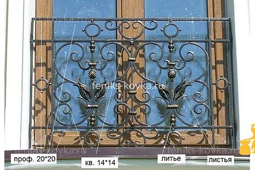 Балконы и ограждения (фото) №22