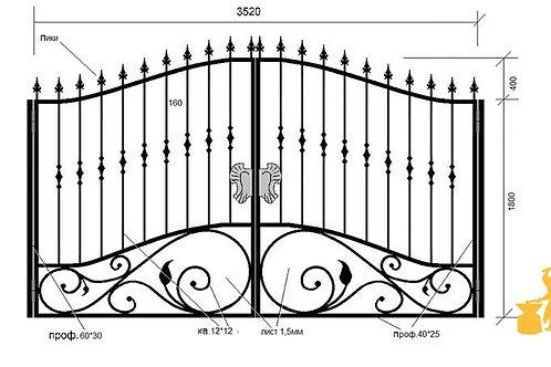 Ворота 043