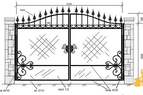 Ворота 016