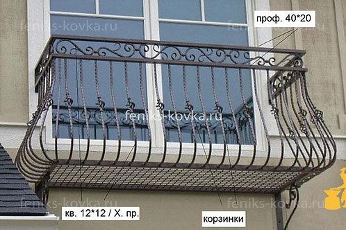 Балконы и ограждения (фото) №40