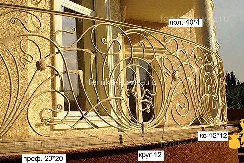 Балконы и ограждения (фото) №47