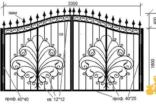 Ворота 026