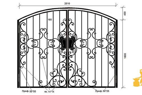 Ворота 050