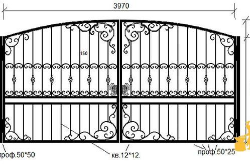 Ворота 030