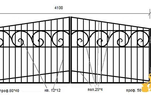 Ворота 045