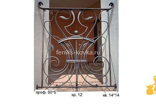 Балконы и ограждения (фото) №19