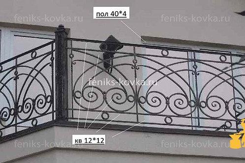 Балконы и ограждения (фото) №10