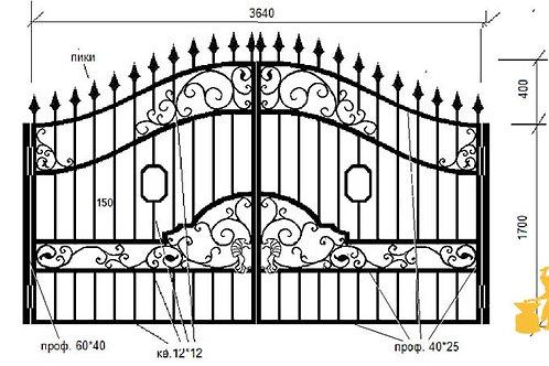 Ворота 05