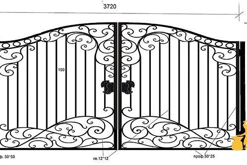 Ворота 042