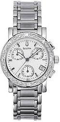 bulova watch, bulova, silver tone,
