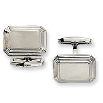 mens accessories, accessories, cuff links, mens cuff links, engraveable cuff links, stainless, stainless cuff links,