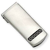 stainless, stainless accessories, money clip, stainless money clip, engraveable money clip